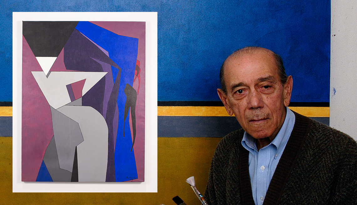 item 1 of Gallery image - abstract painter wassef boutros ghali