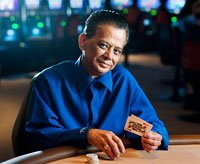 Manny St. Mary works at the Rivers Casino in Pittsburgh, Pennsylvania