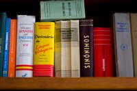 Spanish and Portuguese reference books-great jobs for retirees to work from home
