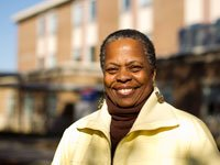 Great Nonprofit Jobs for Retirees- Mattie Ruffin works at a community college