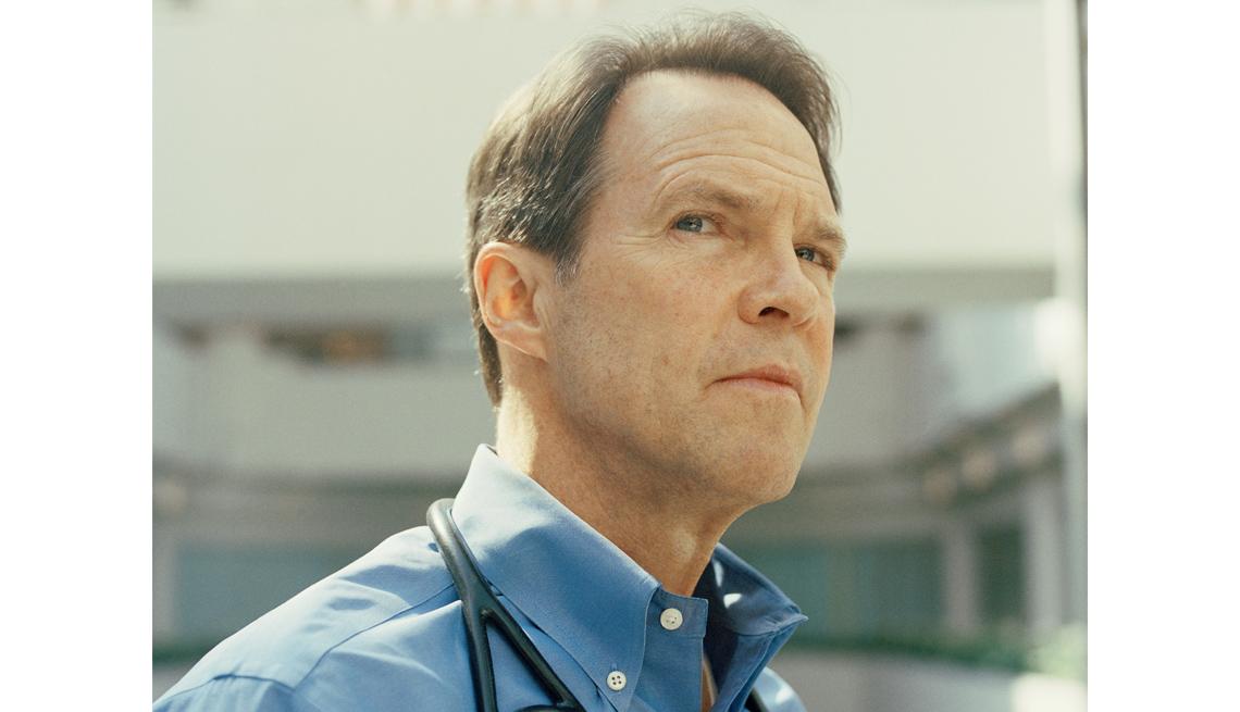 Edward Moriarty se convirtió en enfermero tras los ataques del 11 de septiembre