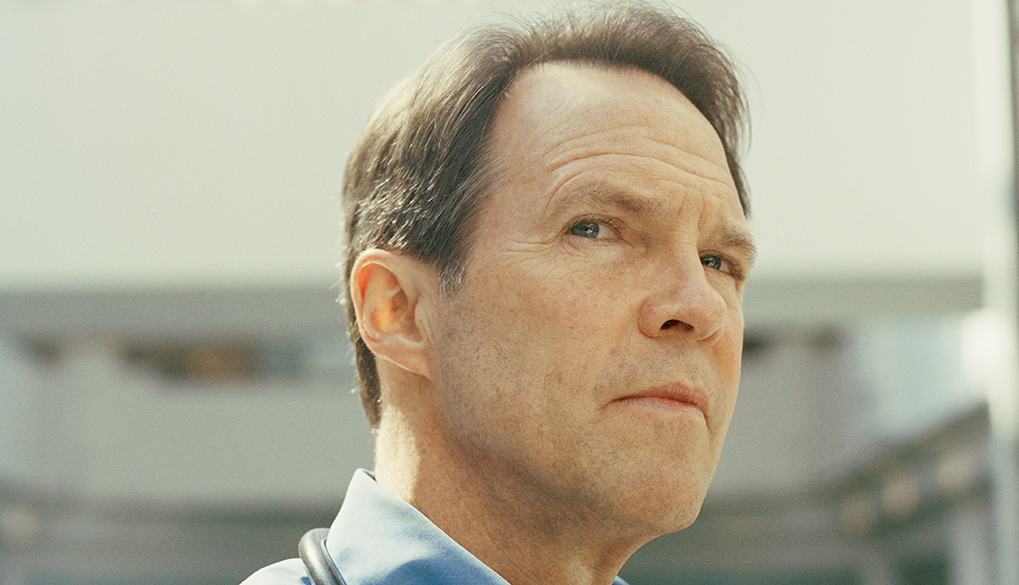 Edward Moriarty became a registered nurse in New York after the 9/11 attacks.