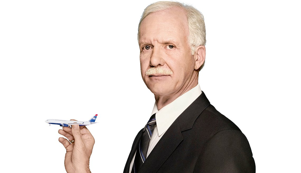"Chesley ""Sully"" Sullenberger, retired ""Miracle on the Hudson"" pilot,"