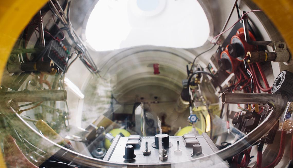 Pilot Turned Submariner, Inside Submarine