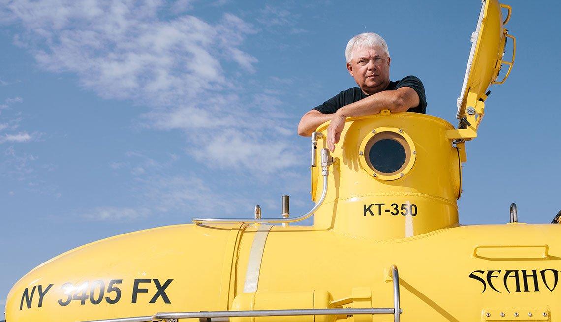 Pilot Turned Submariner, Mark Trezza, Lake Champlain, New York,