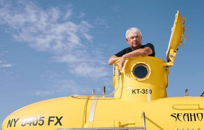 Piloto de submarino Mark Trezza
