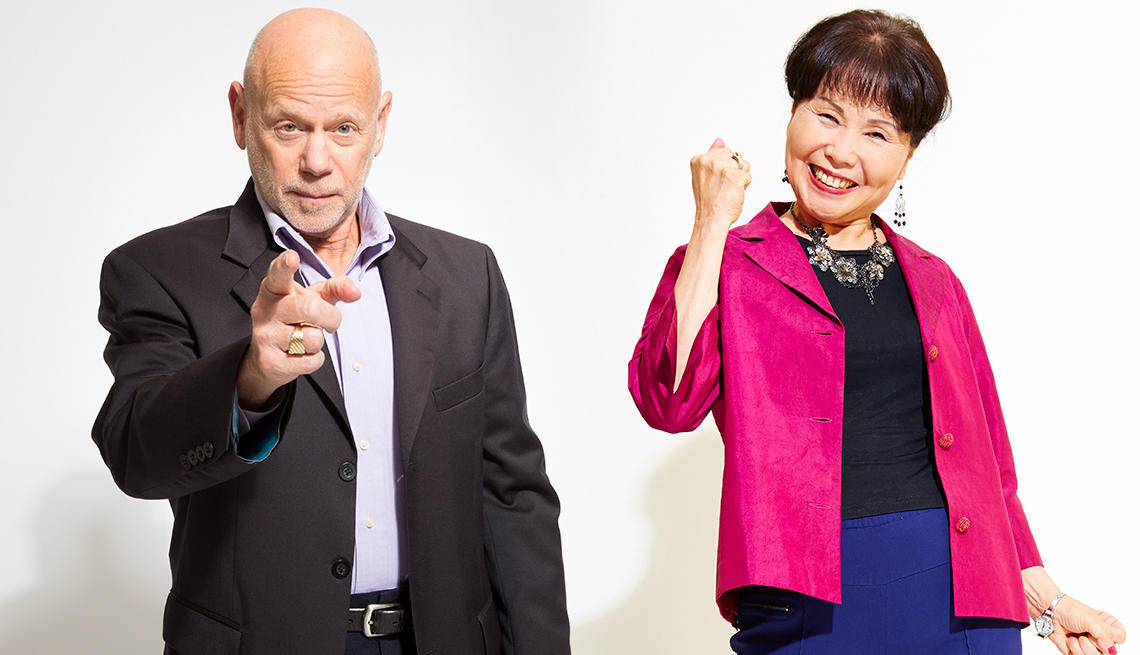 Victor Schachter and Im Ja Park Choi, 50+ and Saving the World
