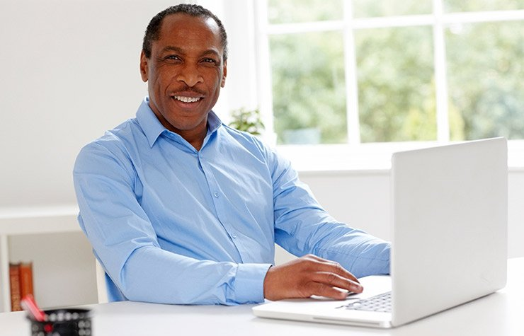 Portrait of happy mature African businessman,3 Tips to Fine-Tune Your Social Media Recruiting Strategy