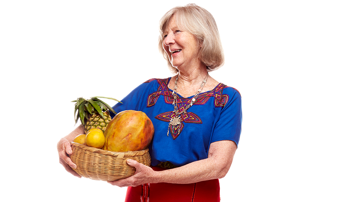 Kate Young, 67, took a big step into sustainable agriculture, helping young women in Guatemala understand nutrition.