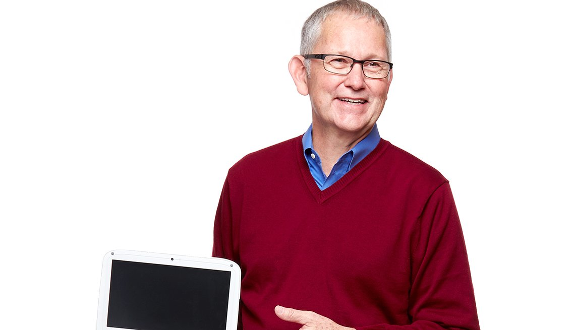 Noel Durrant, 59, educates teachers in developing countries on how to use technology.