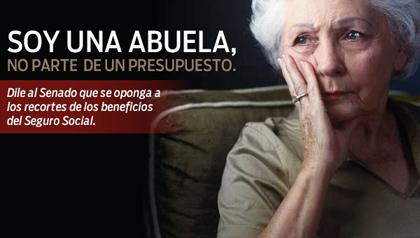 SOY UNA ABUELA, NO PARTE DE UN PRESUPUESTO.