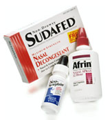 various over-the-counter medications