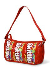 bag made from skittles wrappers