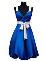 royal blue evening dress