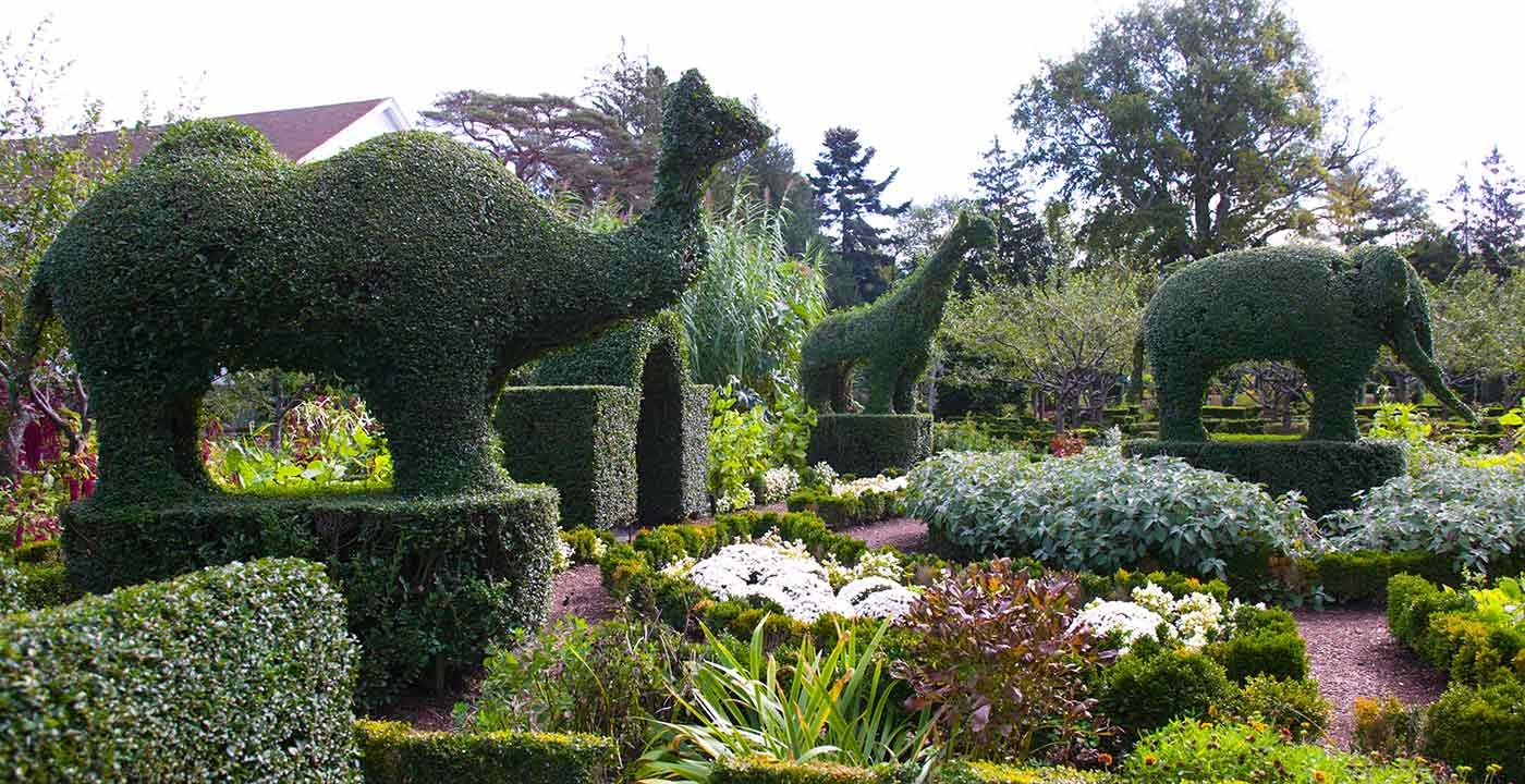 Green Animals Topiary Garden, Portsmouth, R.I.