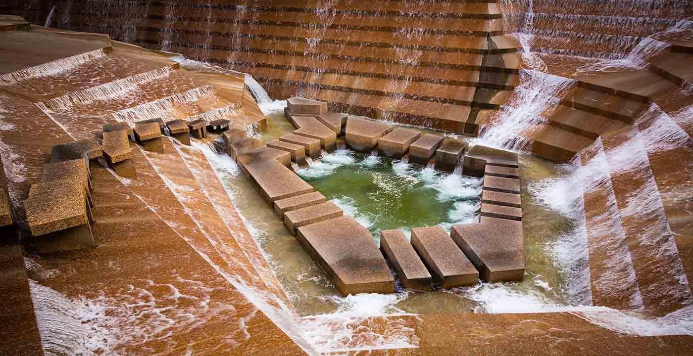Fort Worth Water Garden, Fort Worth, Texas