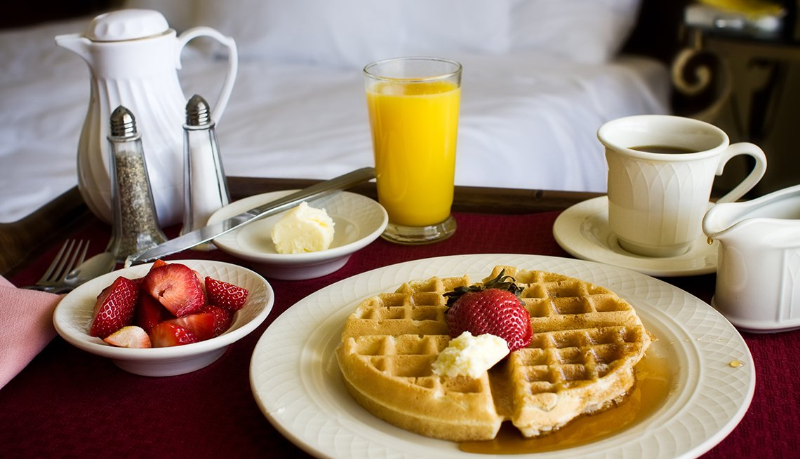 Hotel Chains Don't Waffle When it Comes to Free Breakfasts