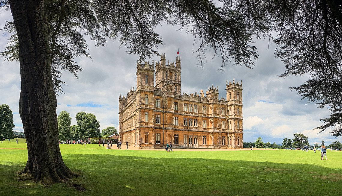 Highclere castle, Hampshire, United Kingdom