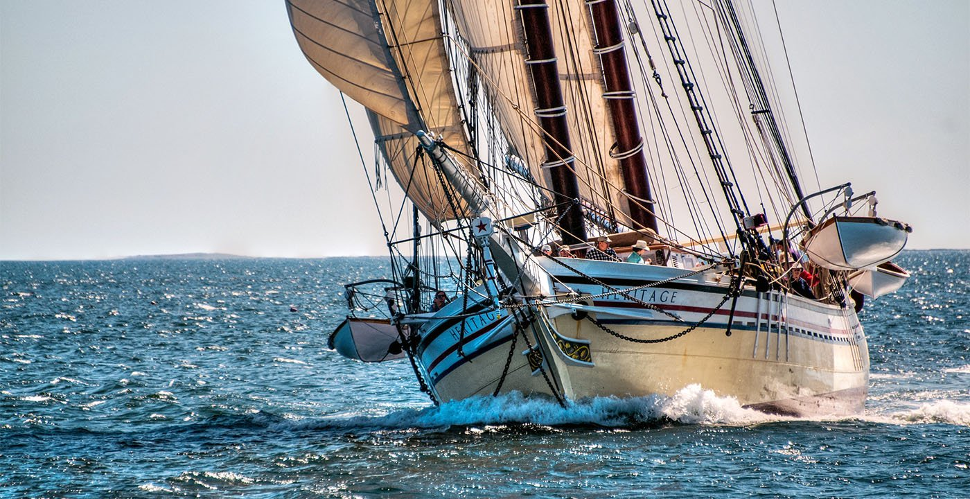 Go Vintage (and Really Sail)
