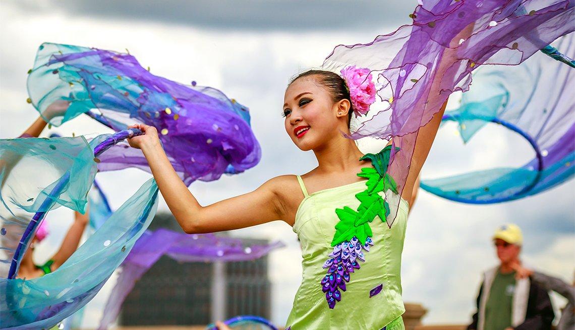 Grand Floral Parade during Portland Rose Festiva