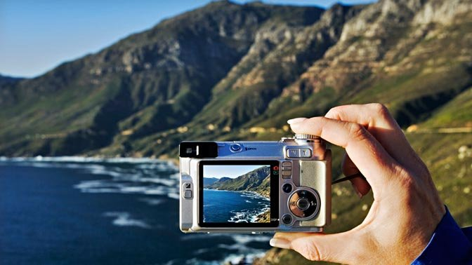 Digital cameras make it easy to take and edit great vacation photos instantly.