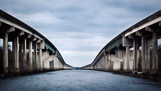 Atchafalaya Swamp Freeway, Louisiana