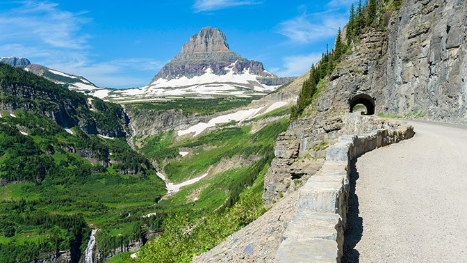 Going-to-the-Sun Road, Montana