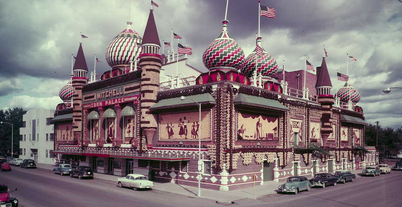 Mitchell Corn Palace, 1892