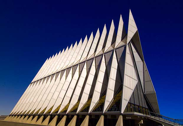 U.S. Air Force Academy Cadet Chapel, 1963