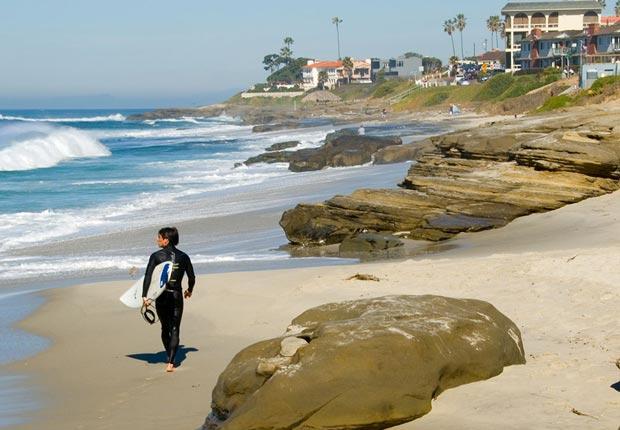 San Diego, California. Las mejores playas de 2014.