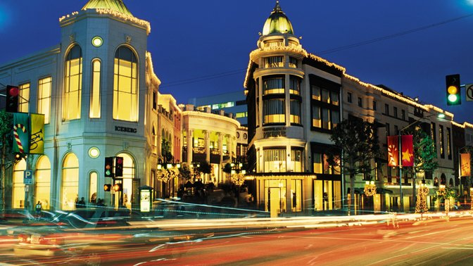 Rodeo Drive offers an abundance of window shopping sans the guilt.