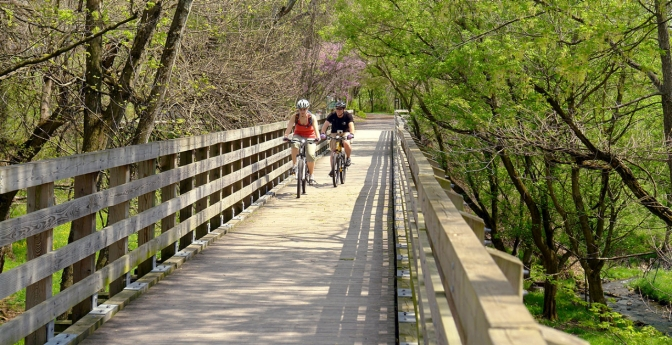 The Virginia Creeper Trail, Damascus, Virginia