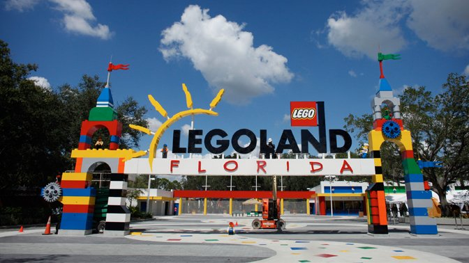 Adventure and fun await at Legoland Florida.