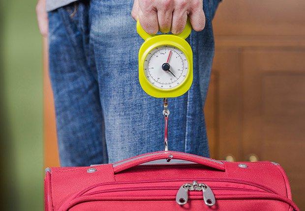 Pesa la maleta - Maneras de transitar rápidamente los aeropuertos
