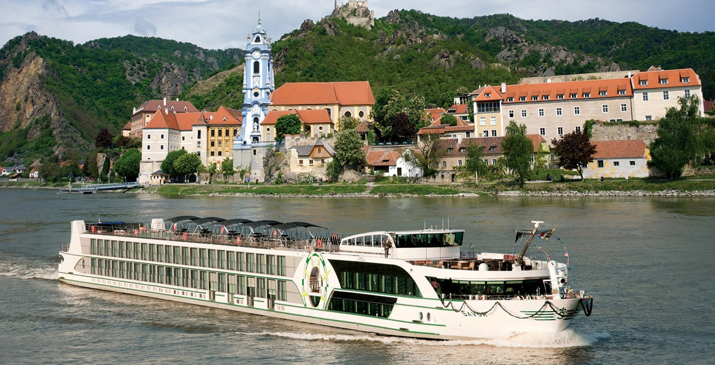 A river cruise through European cities, Europe, Austria, Durnstein