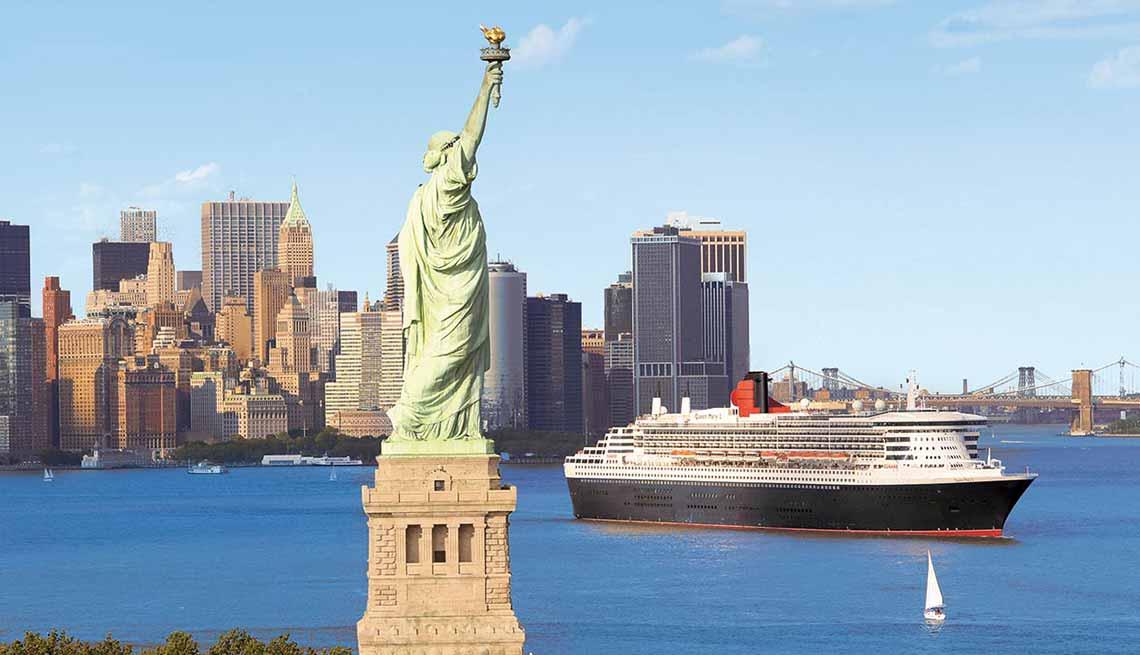 Disfruta de una experiencia de lujo a bordo de un crucero - Queen Mary 2 - New York