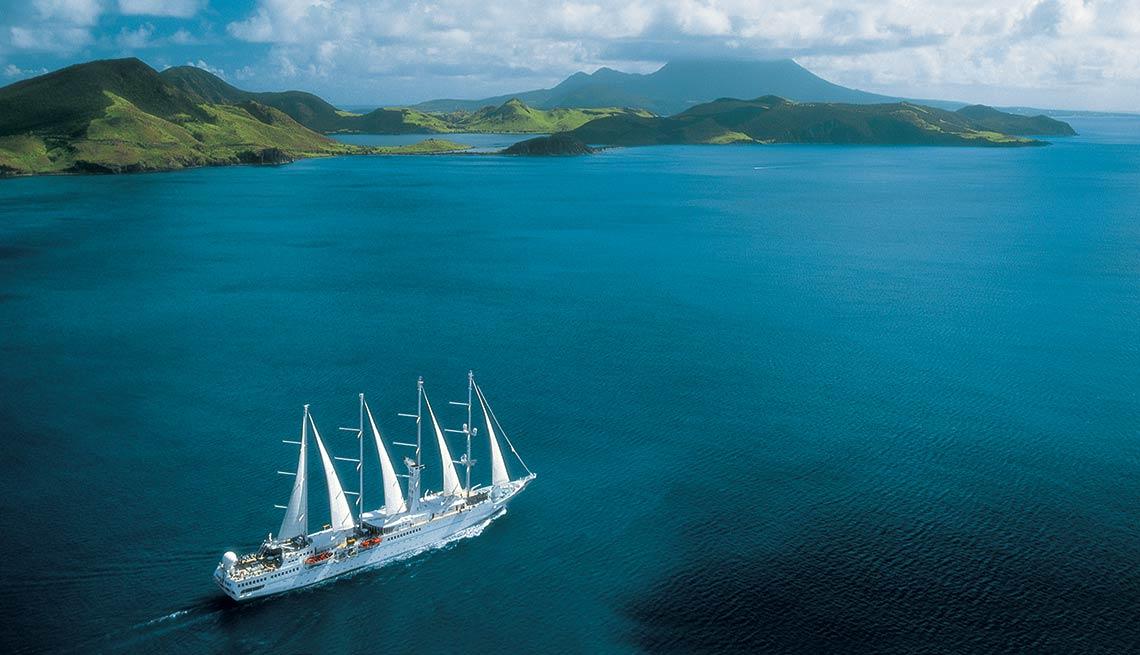 Luxury Cruises, Windstar Cruises, Jewels of the Windward Islands, The Caribbean