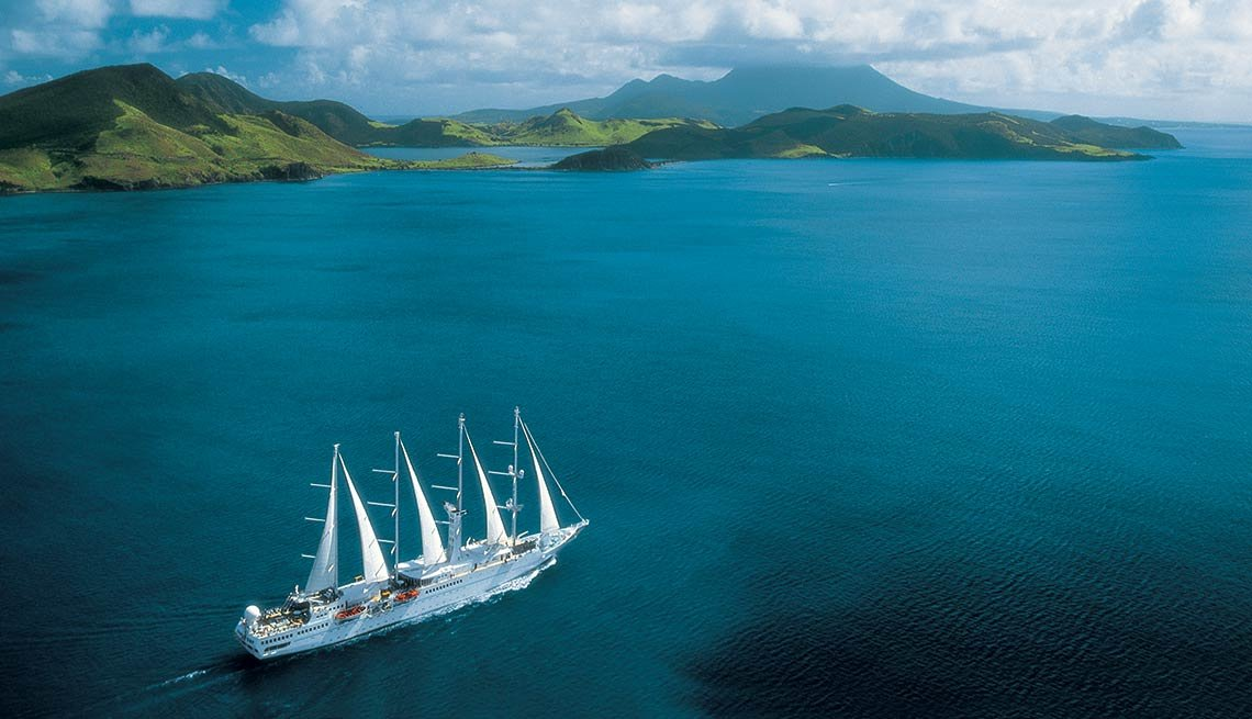 Luxury Cruises, Windstar Cruises, Jewels of the Windward Islands, The Caribbean
