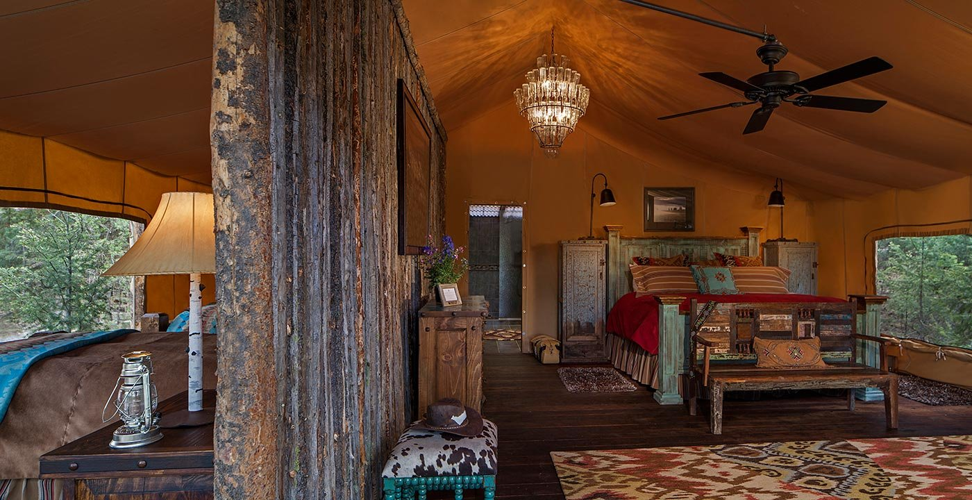 7 Global 'Glamping' Sites