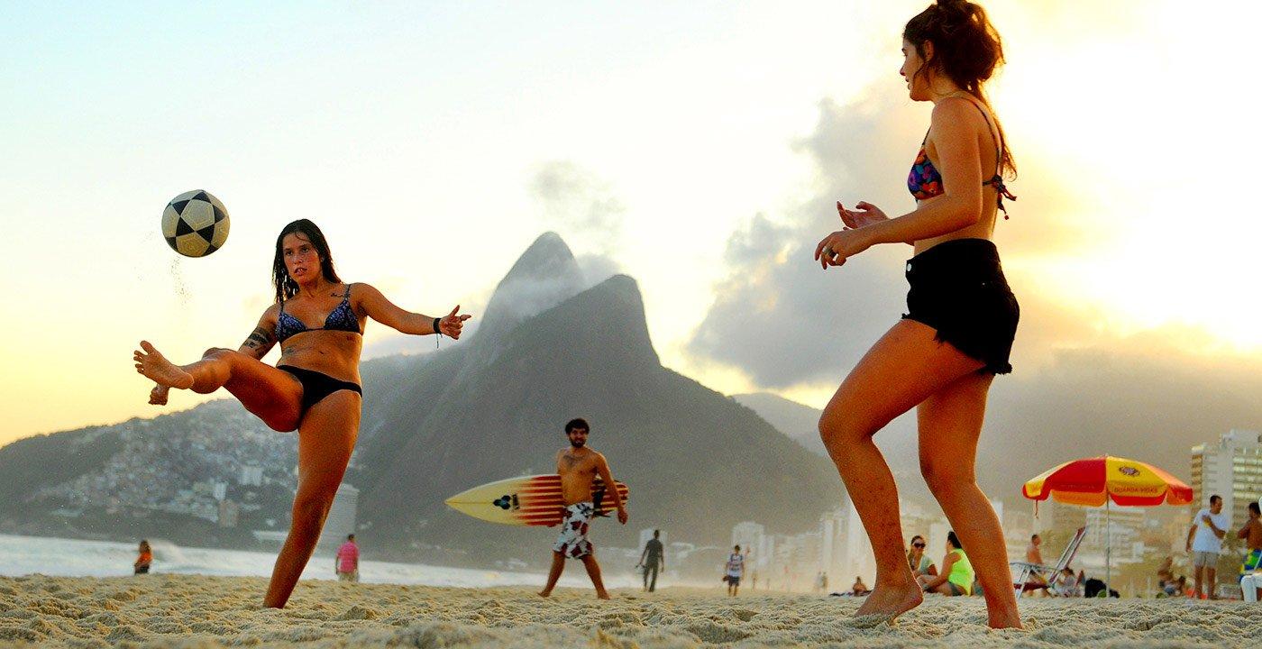 Ipanema Beach, Rio de Janiero, Brazil