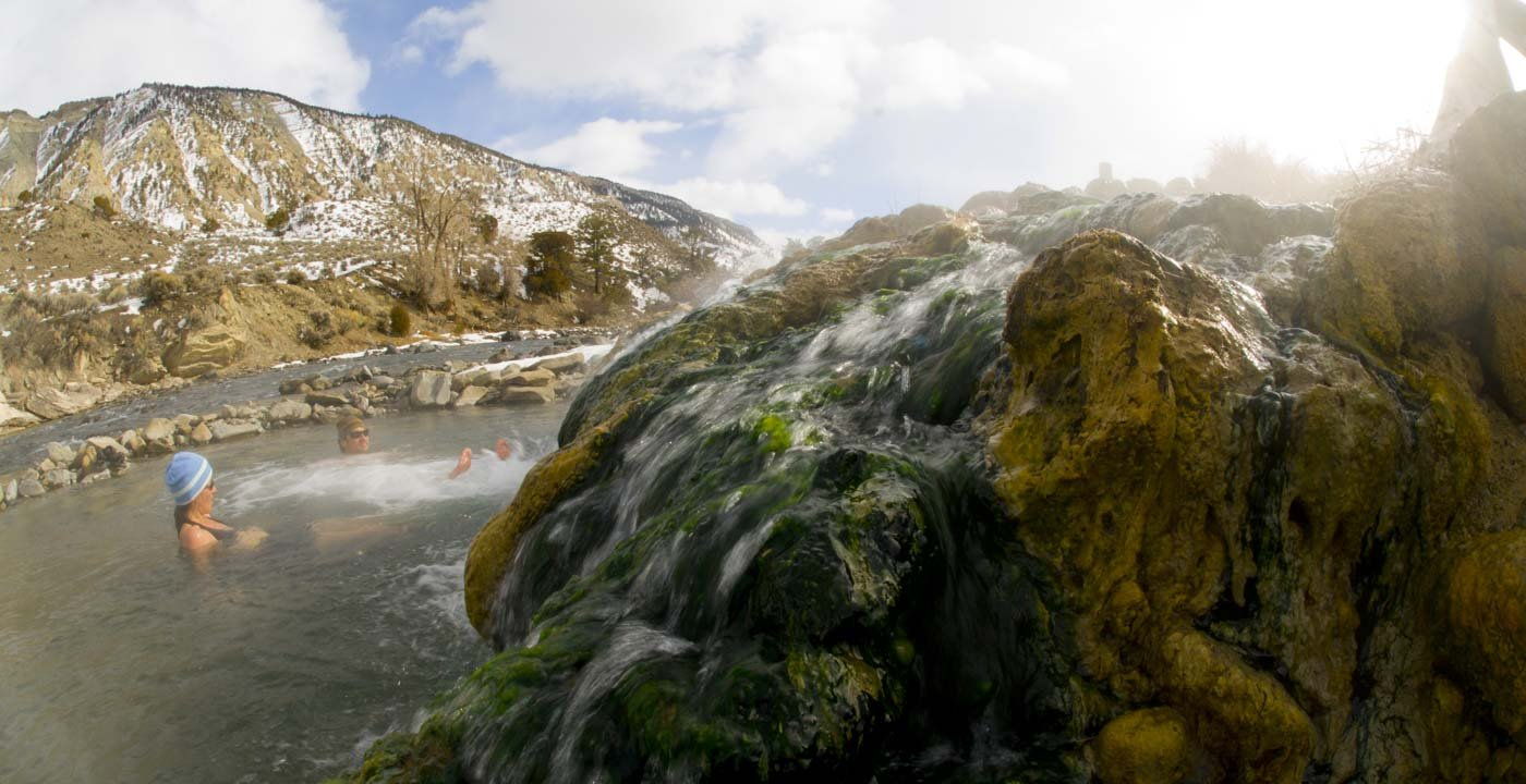 Swim in Boiling River
