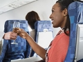 Free booze on a plane? Yes, it still exists.