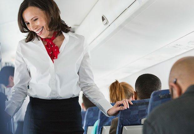 Azafata en un vuelo - Los consejos de viaje de nuestros expertos