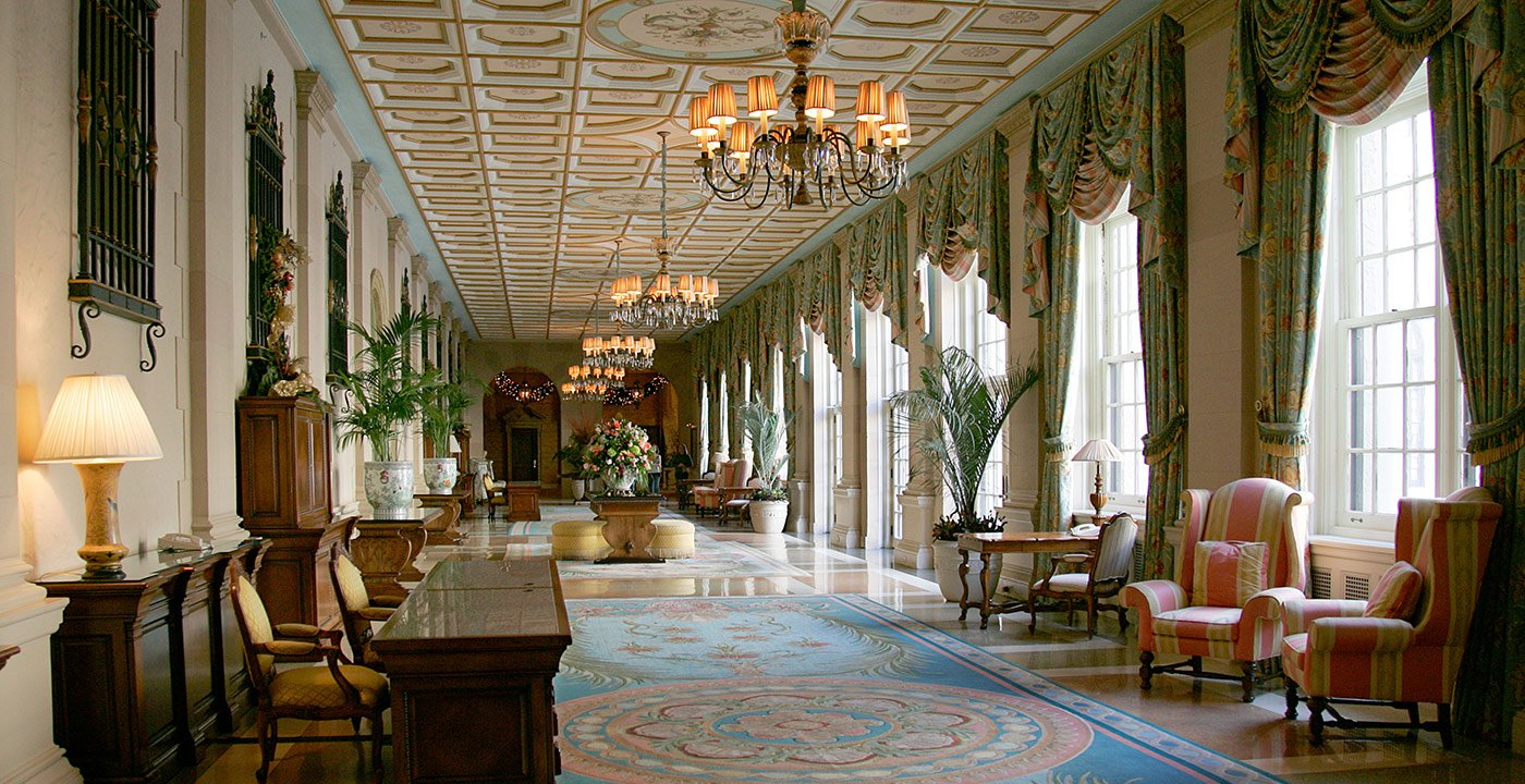 The Breakers, Palm Beach, FL. Great Hotel Lobbies.
