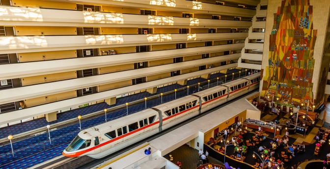 Contemporary Resort Hotel, Walt Disney World