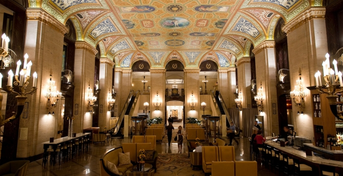 Palmer House Hotel, Chicago, Illinois