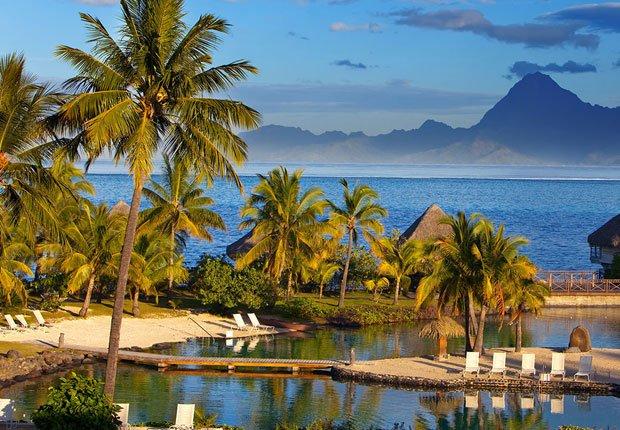 Resort de playa en Tahití - Los mejores destinos para una luna de miel en el 2014
