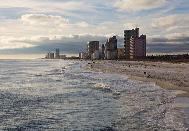 Ciudades costeras turísticas y económicas - Alabama