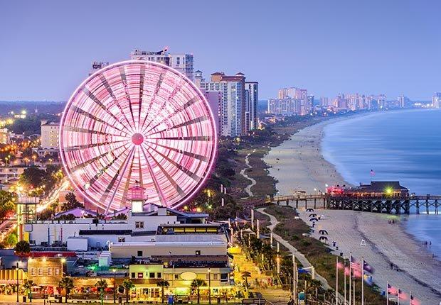 Ciudades costeras turísticas y económicas - Myrtle Beach