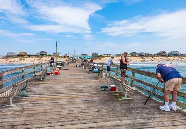 Ciudades costeras turísticas y económicas - Carolina del Norte